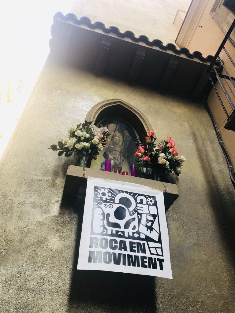 Santo de Sant Roc #Rocenmoviment verano 2019 barcelona