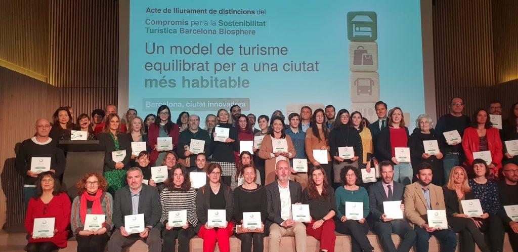 certificado biosphere turismo sostenible barcelona 2019-2020
