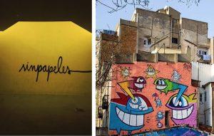 sinpapeles y el pez barcelona grafitti