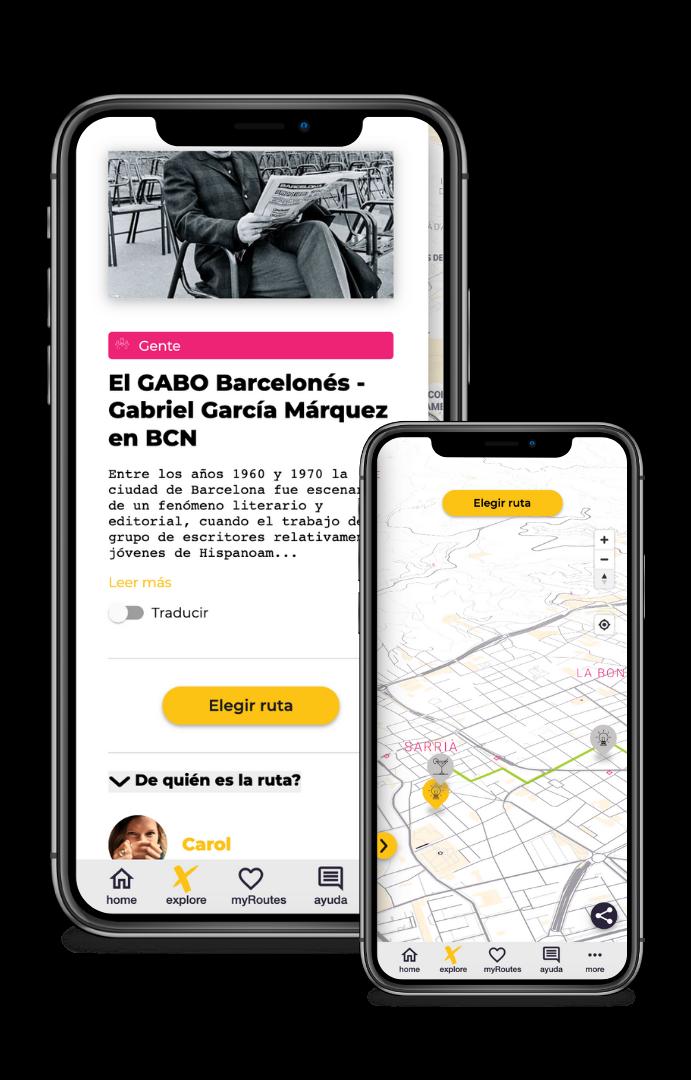 Gabriel García Márquez ruta literaria Barcelona